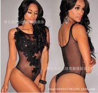 Women Summer Sexy Lingerie Underwear Sling Strap Nightwear Lace Racy Temptation Bodysuit Siamese Comfortable Sexy Underwear 2020 new