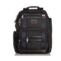 Tumi TM 222382 Мужская деловая досуг путешествия баллистический нейлон ноутбук рюкзак
