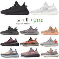 Statik Yansıtıcı V2 Beluga 2.0 Koşu Ayakkabıları Susam Tereyağı Siyah Beyaz Breds Oreos Spor Sneakers Boyutu 36-47 Kutusu olmadan
