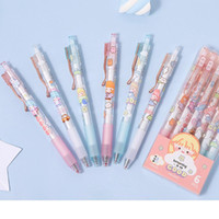 Ballpoint Pens 1pcs Quick-drying Retractable Pen 0.5 Mm Cute Style Girl Go To School Christmas Gift Study Office