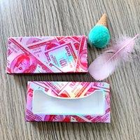 Wholesale Lashes Box In Bulk Paper Empty Boxes With Tray Natural Long Eyelashes Cases Make Up Tools Venor Eyelash Packing