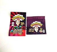 2021 500 mg Çanta Satış Ekşi Tatlı Meyveli Chewy Küpleri Yerler Gummies Warheads Şeker Paket Torbaları