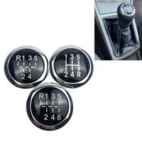 Bouton de quart de vitesse 5/6 vitesses de voiture Emblem Badge Badge Capuche de dessus pour Vauxhall Astra III H Corsa D 2004-2010 Accessoires de coiffage