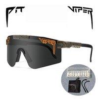 الحفرة الأفعى الدراجات النظارات الشمسية uv400 في الهواء الطلق لا الاستقطاب الرياضة نظارات الأزياء دراجة دراجة النظارات الشمسية نظارات MTB مع القضية
