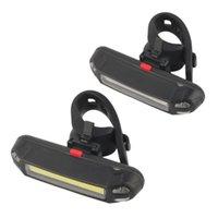 100LM LED Vélo de la queue de la queue USB rechargeable rechargeable puissant bicyclette arrière feux de cyclisme de sécurité de la sécurité tatillonneuse