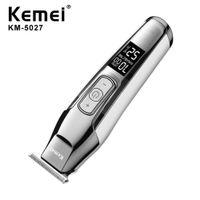 Kemei Km-5027 Capelli tagliafiltro Professionale Capelli cordless per uomo Barba Electric Cutter Head Capelli Tagliatrice per capelli Alta qualità