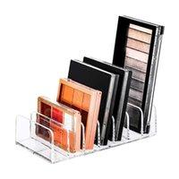 Hooks & Rails 39XA Makeup Organizer Acrylic Eyeshadow Palette Accessories Storage For Bathroom Sink Vanity Trays Closet Shelf Drawer Wallets