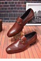 Freies Verschiffen Mode Designer Handgemachte Echtes Leder Herrenschuhe Rindsleder Bräutigam Beste Männer Schuh Oxfords Business Schuhe Italienisch Männlich Sty