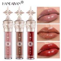 Handaiyan Little Star Lip Gloss High Shine Film Lustro Lips Glazura Moisturizer Non Sticky Long Last Coloris Makeup Gloss