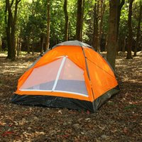 Tents And Shelters Yellow Blue Color -Up Camping Sunshade Tent Outdoor Leisure Free To Build Two Portable Sunscreen Waterproof Windshield