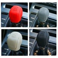 2021 New Silicone Car Gear Head Shift Knob Cover Gear Shift Non Slip Grip Handle Case