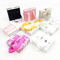 Wholesale Eyelashes Box For 10-30mm Natural Long Eyelash Packaging Boxes Lashes Empty Cases Make Up Tools