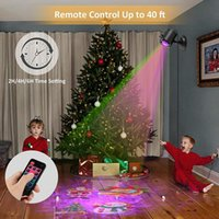 Projector Light Outdoor Landscape Xmas Lamp2021 Christmas Snow fall Light Projector LED Laser Waterproof Outdoor Laser