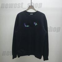 2021 Paris Designer Herren Womens Sweatershirt Mit Kapuze Hoodies Luxus Fruit Print Sweathirt Mode Straße Langarm Luxurys Hoody Pullover