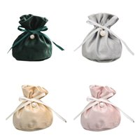 Jewelry Pouches, Bags 12 Pcs Velvet Drawstring Pouches Small Jewellery Gift For Wedding Party Candy Packing Storage