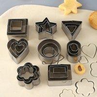 الهندسة البسكويت قطع كعكة كعكة العفن قياس أدوات المطبخ الأجهزة الخبز -Stain الصلب
