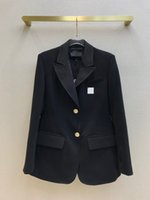 2021 Milan Runway Coats Revers Hals Langarm Getrocknete Marke Dieselben Stil Trenchcoats Frauen Designer Mäntel 0310-7