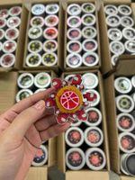 Spinning Top 2021 Descompressivo Animação de Brinquedo Running Fingertip Giroscópio Giroscópio Stress 3d Fidget Fidget Spinner for Kids Xmas presentes