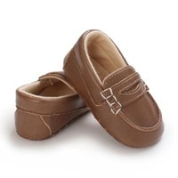Athletic & Outdoor Baywell Autumn Baby Boys Pu Leather Shoes Girls Cute Soft Anti-Slip Sole Crib Infant Toddler Sneakers Slip-on 0-18M