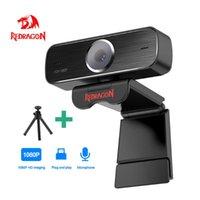 Redragon Hitman GW800 USB HD Веб-камера Встроенный микрофон 1920x1080P 30FPS Веб-камера для настольных компьютерных ноутбуков ПК