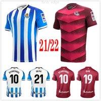 2021 2022 Real Sociedad Soccer Jersey Copa del Rey Terceiro Oyarzabal x Prieto Portu 3rd David Silva Odegaard Juanmi 21 22 Camiseta de Futbol Camisa de futebol Men Kit Kit