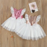 Kid Dress For Girl Patchwork Princess Dress Girls Sleeve Seq...