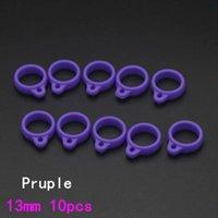 8 colores silicon caucho vape banda anillo bandas e-cig silicon vapor antideslizante para vape pod