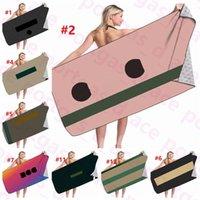 3D-Bedruckung Strandtuch Ins Mode Mikrofaser Spa-Pool Badetücher Sommer Vintage Indoor Home Office Sofar Chair Decken 75 * 150 cm