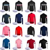 Rapha Team Cycling Winter Thermal Fleece Jersey Cycle Wear Variedad de opciones Bicicleta al aire libre 31684