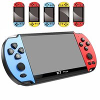 X7 PLUS Video Game Player 5.1 inch for GBA Handheld 8GB Game Console Retro Games LCD Display 5.1 inch Game Player for Men Woman Children DHL