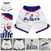 Homens retrô apenas Don Basquetebol Shorts Calças Calças Calças Hip-Hop Curtas Branco