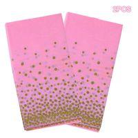 Table Cloth Tablecloth Dots Solid Color El Picnic Rectangular Covers Wedding Event Party Cover Tea Decoration 2PCS