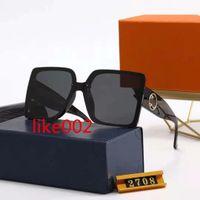 2021 망 여성 디자이너 선글라스 럭셔리 선글라스 디자이너 유리 안경 2708 모델, 5 색 옵션 고품질 안경 AA1