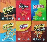 Yeni Cheetos Crunchy Mylar Çanta 1 oz 600 mg Doritos Çanta Cheetos Puffs Fritos Ruffles Cips Doweedos Patates Cipsi Koku Geçirmez Ambalaj