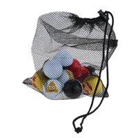 Formation de golf Sac à billes vides durable de nylon de Nylon peut 45 pcs boules de tennis titulaire de stockage de stockage accessoires de golf