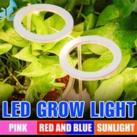 Led Grow Lights Phyto Lamp For Plants Bulb Full Spectrum Lamps Growth Light Hydroponics Lighting USB Greenhouse Indoor Flower Seed