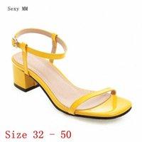 Frauen High Heel Sandalen Schuhe Frau High Heels Gladiator Sandalen Pumps Kleine Plus Größe 32 33 40 41 42 43 44 45 46 47 48 49 50 U2TW #
