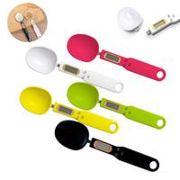 Scala da cucina elettronica 500g 0.1g Display LCD Digital Peso Digital Misuratore Spoon Digital Spoon Scale Mini Tool Kitchen W-00690
