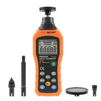 Compteurs Contact Moteur Portable Moteur Vitesse Moteur Professionnel Digital Tachymètre Digital Mini 50RPM-1999999999999999999RPM
