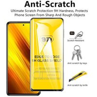 For Poco For Xiaomi M3 Full Cover 9D Temperd Glass Anti-Explosion Glass Protective Front Film