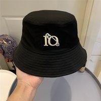 Benna Cappello Lettera Ricamo Bonnet Donne Benne Cappelli Cappelli Estate Cappelli Estate Cappelli Donne da uomo Casquette 210564V