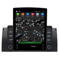 """2 Din 9.7"""" Vertical Screen Car dvd Stereo Android GPS Navigation Multimedia Player For 1995-2003 BMW 5 Series E39 X5 E53 Tesla Style Autoradio"""