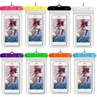 Universal impermeável caso saco pvc protetor de telefone bolsa de saco com sacos de bússola para iPhone 11 12 Samsung mergulho nadando para smart phon