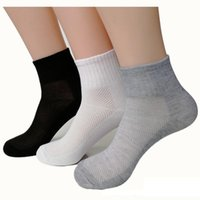 Socks & Hosiery 3 4 5 6Pairs Women Breathable Sports Solid Color Boat Comfortable Cotton Ankle Wholesale Summer Autumn