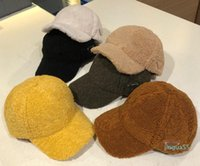fashion Hip Hop Ball Caps for Mens Women Winter Designer Cashmere Baseball Cap Fashion Street Hat Beanies Warm Furry Hats 6 Colors