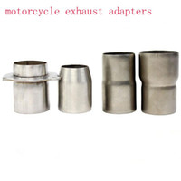 Motorcycle Exhaust Convertor Adapter Reducer Connector Pipe ...
