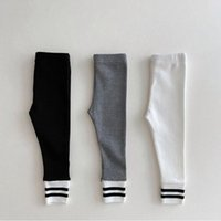 Trousers MILANCEL 2021 Autumn Baby Pants Toddler Skinny Girls Tight Boys Clothes