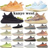 Kanye West x Yeezy Boost 350 V2 shoes Static Yansıtıcı 3 M V2 Beluga 2.0 Gündelik Ayakkabı Susam Tereyağı Siyah Beyaz Breds Oreos Yeezys Yeşily 350 Boost Spor Sneakers Boyutu 36-47