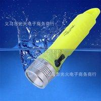 Légère de plongée rechargeable Super lumineux LED sous-marin de plongée sous-marine de plongée sous-marine pour snorkeler YS-Acheter 124 x2