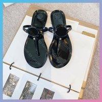 Плоские сандалии Luxurys дизайнеры женские сандалии скользкие ползунки платформа Sandalias клинья Sandale Shoes роскошный слайд Des Sandales Flip